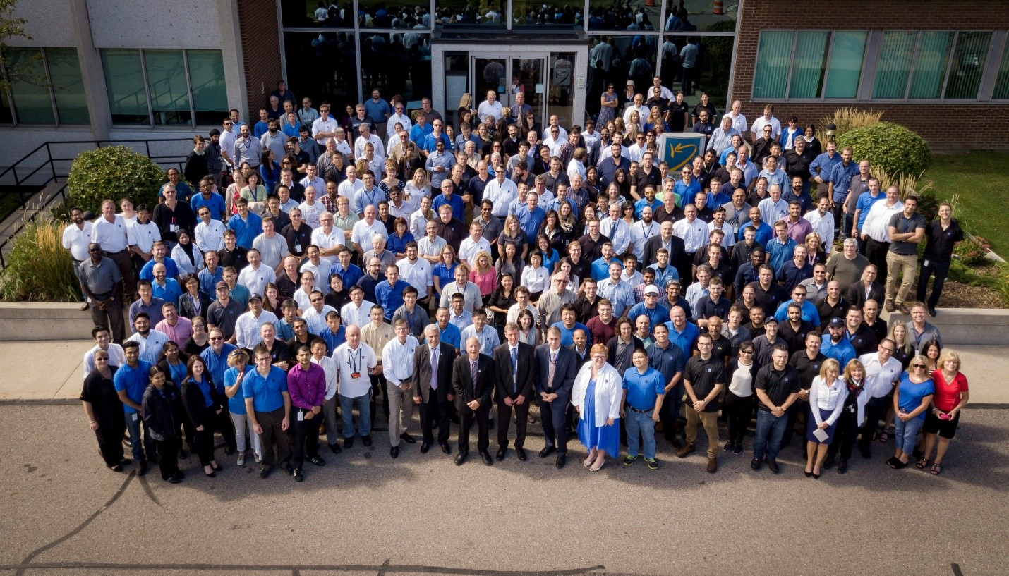 Photo of a group of Kinectrics Employees